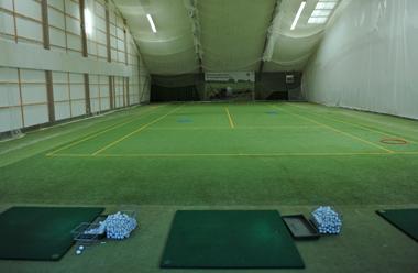 Die Golfhalle